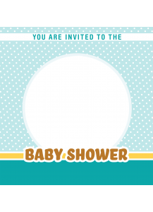 Baby Shower Invitations - Square