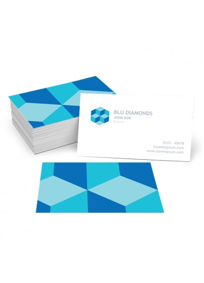 Blue Diamonds Business Card (1000 cards)