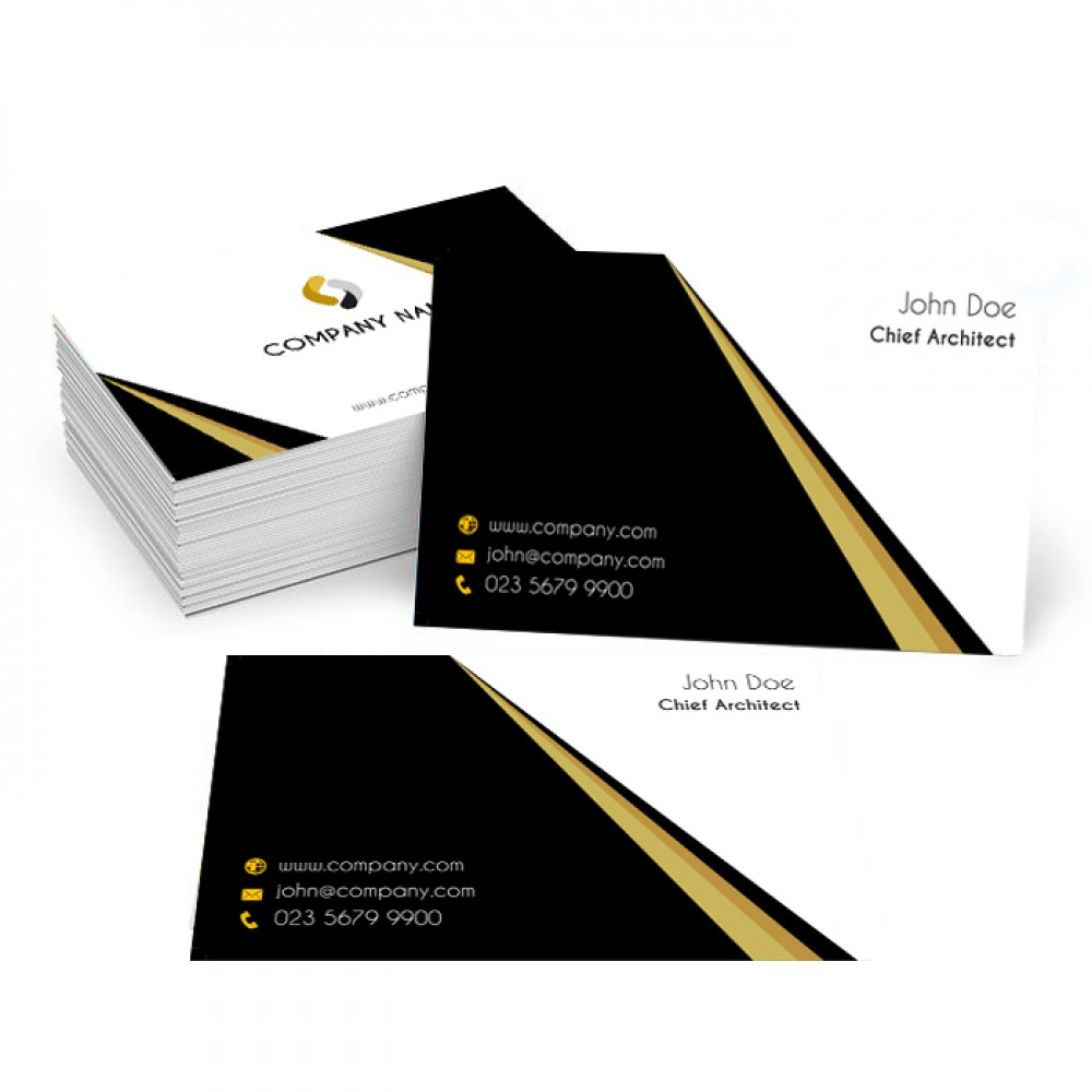Black Business Card (1000 cards)