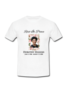 Customized Memorial Shirt