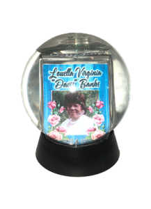 Snow Globes - Round Large Double-sided