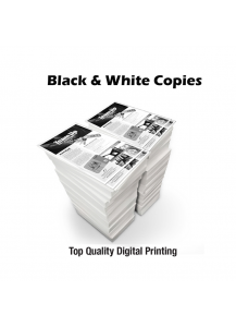 Black & White Copies - 8.5 X 11