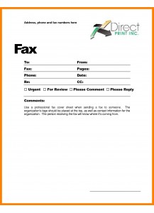 Faxing Services