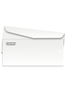 Business Envelope #10 (Black & White) - Custom Print